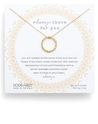 Dogeared Always There For You Necklace