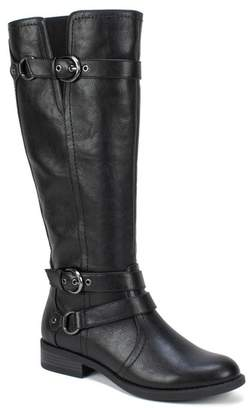 White Mountain Loyal Tall Faux Leather Riding Boot