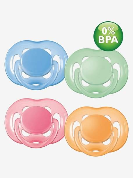 Vertbaudet PHILIPS AVENT BPA-free 1st or 2nd Stage Ventilated Soother