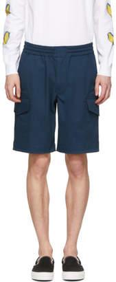 Paul Smith Navy Military Shorts