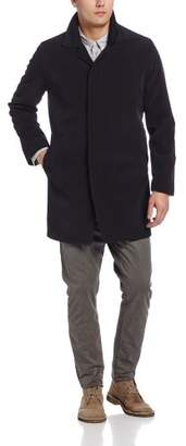 Kenneth Cole New York Men's Rally Single-Breasted Fly-Front Raincoat
