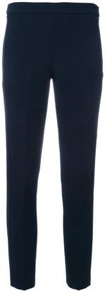 Blumarine slim-fit cropped trousers