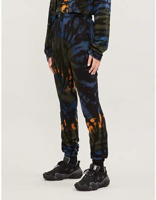 Cotton Citizen Milan tie-dye cotton-jersey jogging bottoms
