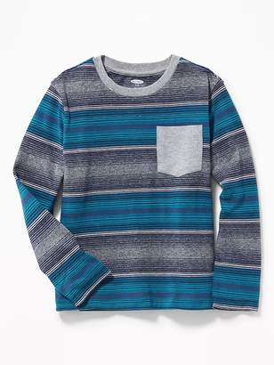 Old Navy Striped Pocket Tee for Boys