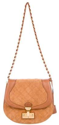 Marc Jacobs Saffron Quilted Suede Bag