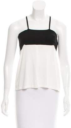 Valentino Bow-Accented Sleeveless Top