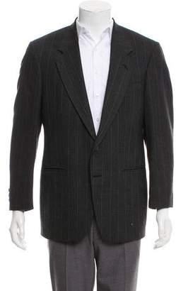Givenchy Pinstripe Two-Button Blazer