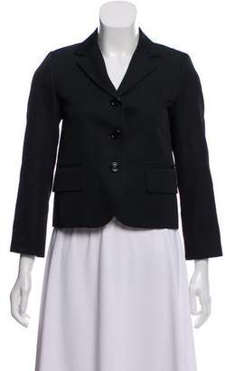 Marc Jacobs Silk-Lined Notch-Lapel Blazer