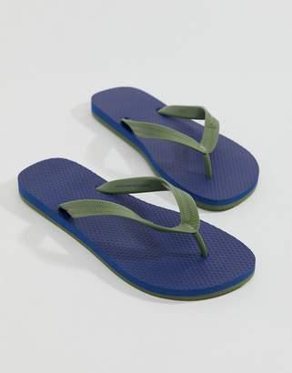 Benetton Thongs In Blue