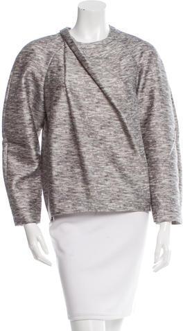 Alexander WangAlexander Wang Wool-Blend Crew Neck Sweater