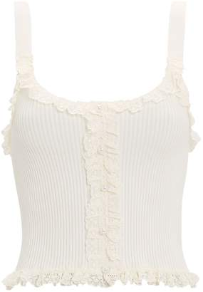 74c9bf79556 For Love & Lemons Britney Cropped Tank