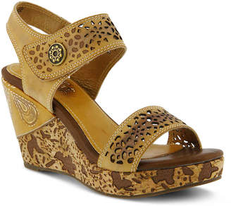 Spring Step L'Artiste by Allura Wedge Sandal - Women's