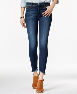 Joe's Charlie Cropped Cotton Skinny Jeans $179 thestylecure.com