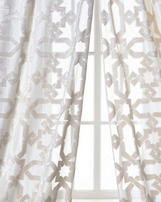 Dian Austin Couture Home Urban Cut Curtain, 84""
