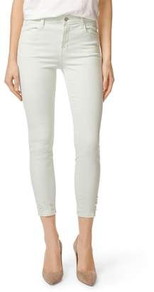 J Brand 'Alana' High Rise Crop Skinny Jeans