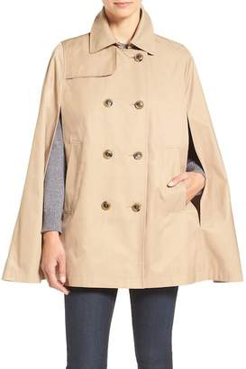CeCe Lily Trench Cape $148 thestylecure.com