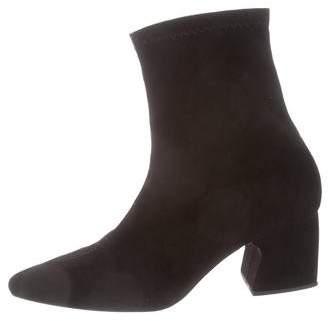 Rachel Comey Suede Mid-Calf Boots