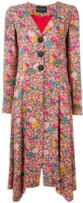 Etro floral print long coat