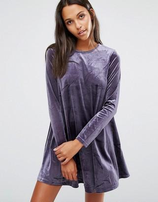 Glamorous Velvet Swing Dress $41 thestylecure.com