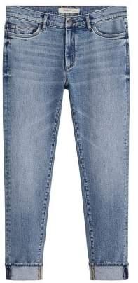Mango Man MANGO MAN Skinny faded medium wash Jude jeans