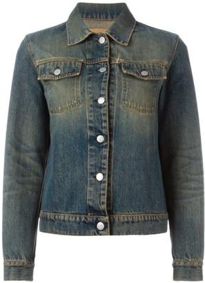 Helmut Lang Pre-Owned faded denim jacket
