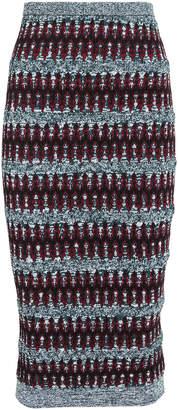 Carven Multi Knit Pencil Skirt