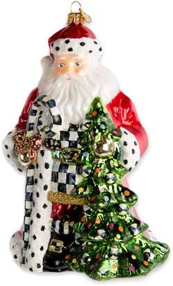 Mackenzie Childs Mackenzie-Childs Tree Farm Santa Decoration