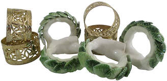 One Kings Lane Vintage Mixed Napkin Rings