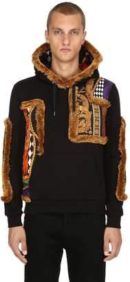 Versace Patchwork Baroque Sweatshirt Hoodie