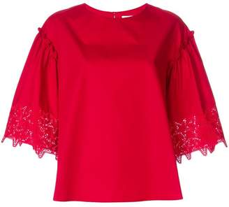 P.A.R.O.S.H. star lace blouse