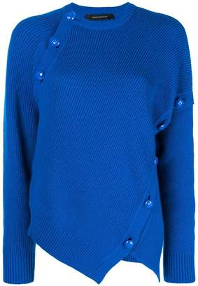 Cédric Charlier button-embellished jumper