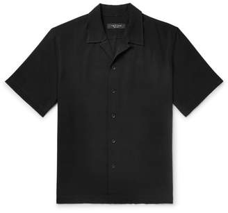 Rag & Bone Avery Camp-Collar Woven Shirt