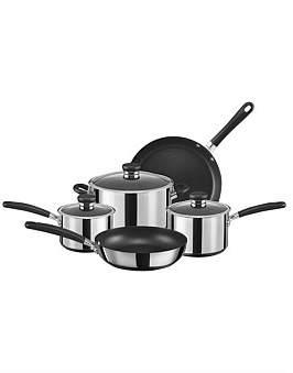 Circulon Ultimum Stainless Steel Non-Stick 5 Piece Cookware Set
