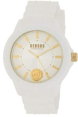 Versace Women's Silicone Strap Watch, 42mm