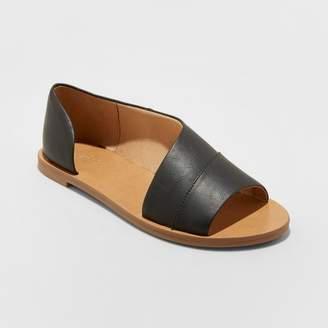 Universal Thread Women's Lissa Asymmetrical Slide Sandals