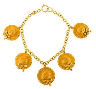 Chanel Hat Charm Necklace