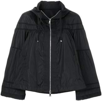 Moncler cropped hooded jacket