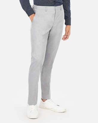 Express Extra Slim Stretch Wrinkle-Resistant Lightweight Flannel Dress Pant