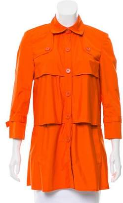 Rolando Santana Lightweight Layered Coat