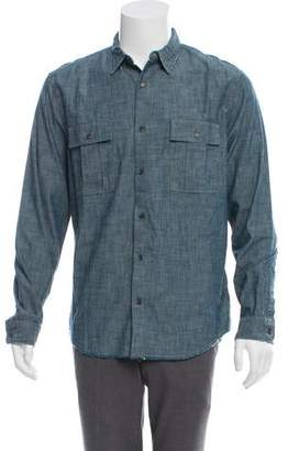 Vince Chambray Button-Up Shirt w/ Tags