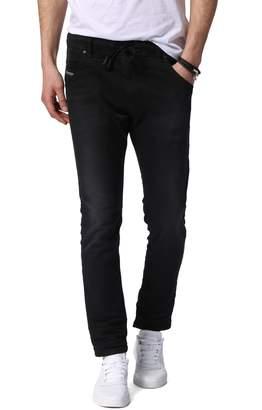 Diesel R) Krooley Skinny Slouchy Jogger Jeans