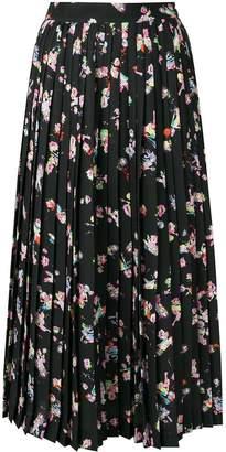 Maison Margiela high-waist pleated skirt
