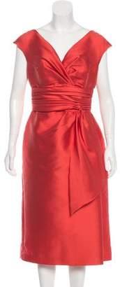 Couture Liancarlo Silk Midi Dress
