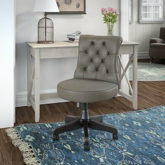 Beachcrest Home Kelson Desk and Chair Set