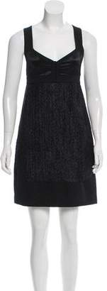 Narciso Rodriguez Sleeveless Mini Dress