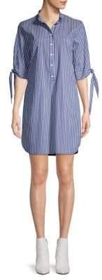 MICHAEL Michael Kors Printed Self-Tie Shift Dress