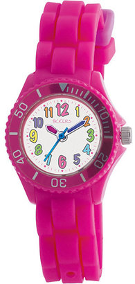 Tikkers Children's Pink Silicone Watch
