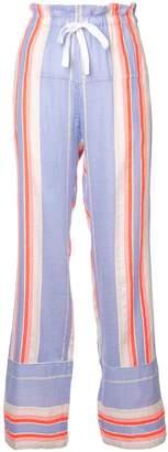Lemlem Fiesta striped beach trousers