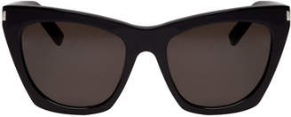Black SL 214 Kate Sunglasses