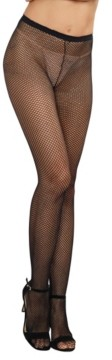 Dreamgirl Fishnet Pantyhose With Back Seam